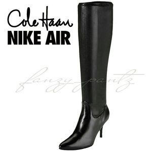 Cole Haan Nike Air Roselyn knee high boots 7.5